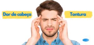 Dor de cabeça pressão alta
